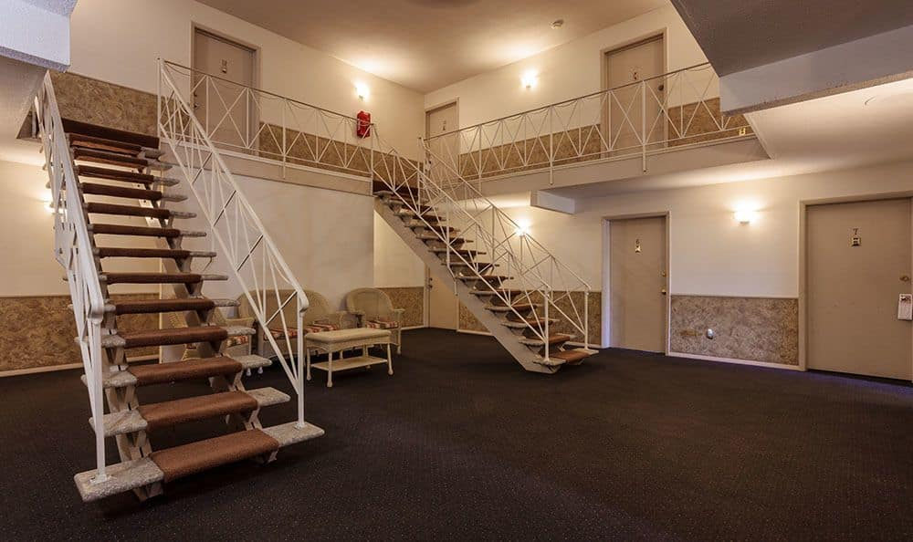 Apartment building interior at Brookwood on the Green in Liverpool, NY
