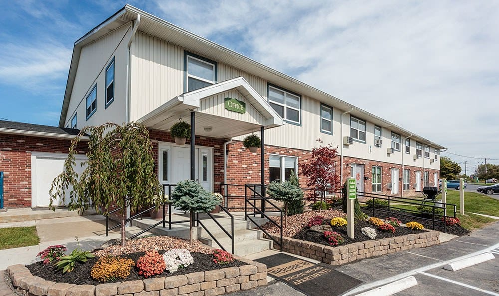Visit our leasing office today at Brookwood on the Green in Liverpool, NY
