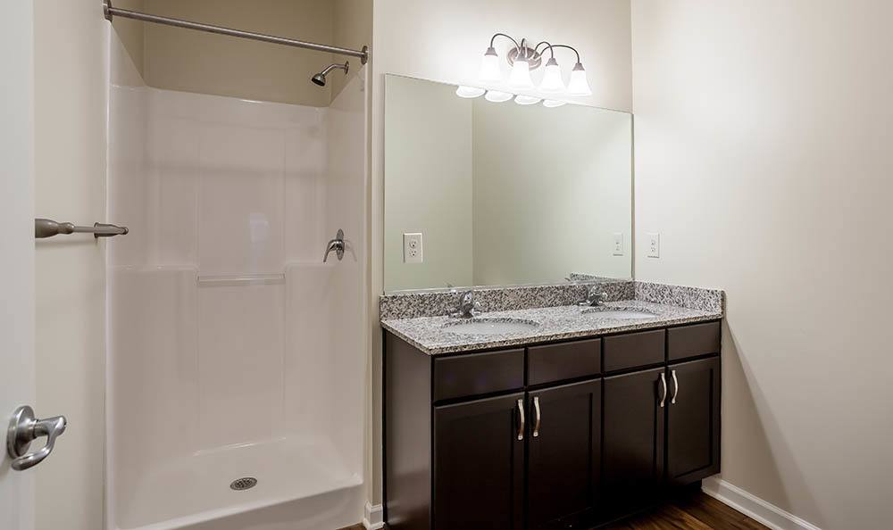 Ethan Pointe Apartments Bathroom in Rochester, NY