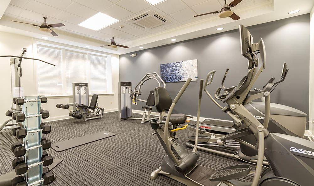 Ethan Pointe Apartments Fitness Center in Rochester, NY