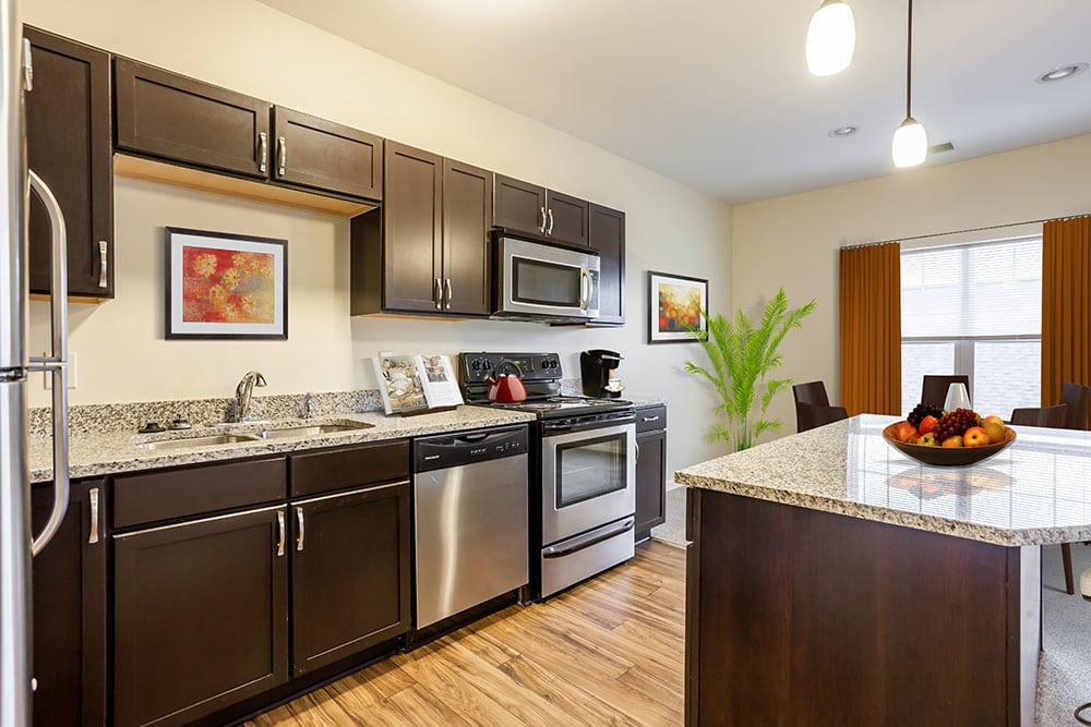 Spacious kitchen in our Rochester, NY apartments