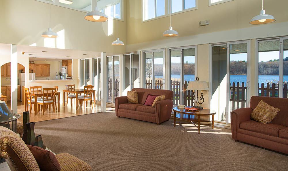 Lakeshore Villas Clubhouse Seating in Port Ewen, NY