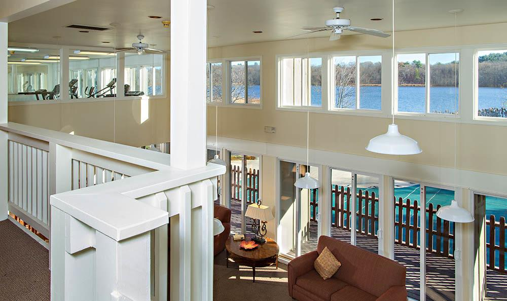Lakeshore Villas Clubhouse Second Floor View in Port Ewen, NY