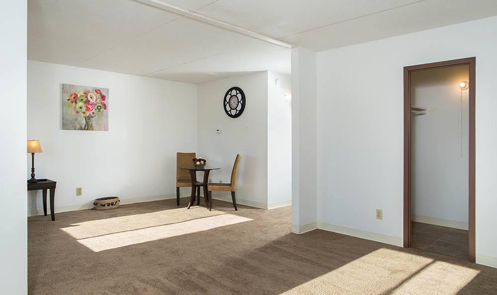 Park Guilderland Apartments Living Space Closet in Guilderland Center, NY