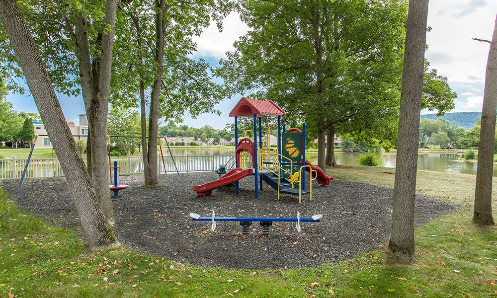 Children's playground is onsite for your enjoyment at Emerald Springs Apartments