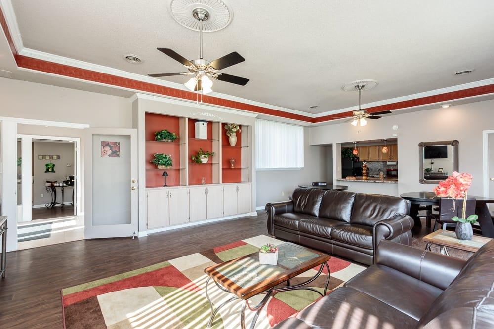 Camillus apartments includes an entertainment space