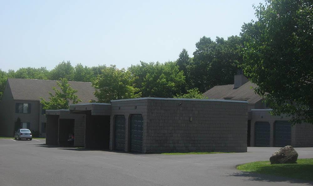 Exterior views of apartments in Camillus, NY
