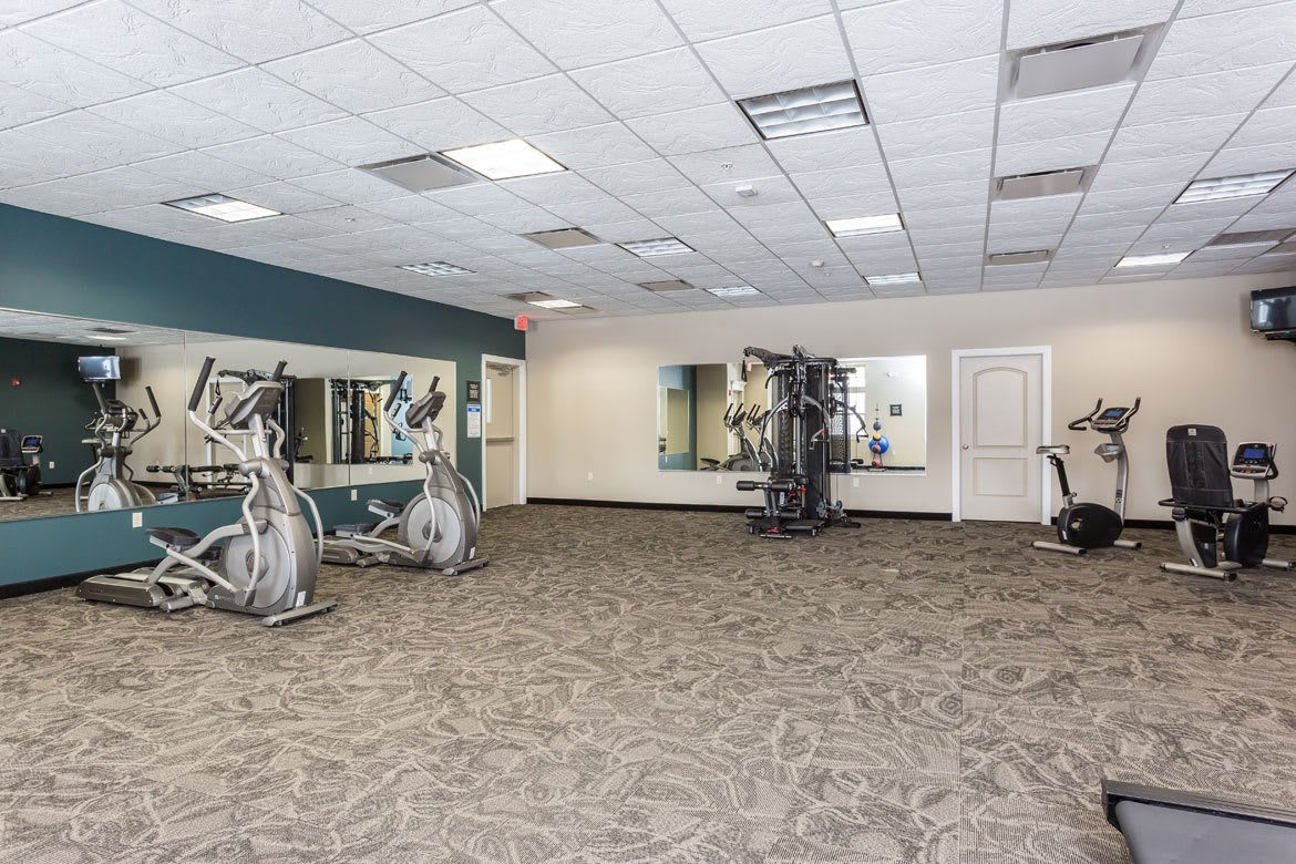 Gateway Landing on the Canal  Fitness Room