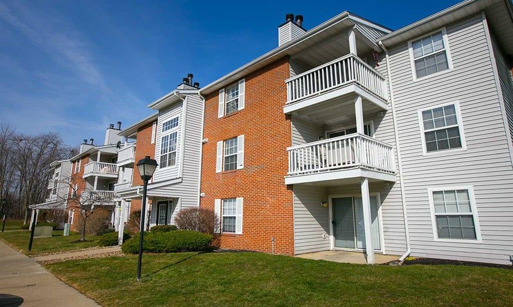 Apartments in Westlake building