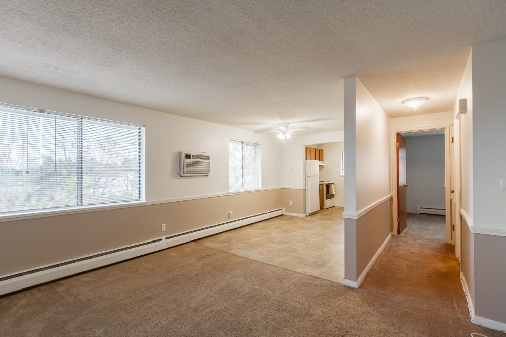 Dixon Manor Apartments Living Room in Irondequoit, NY
