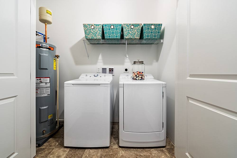 washer and dryer at apartments in Aliquippa