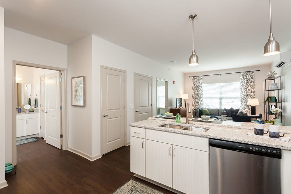 Spacious kitchen in our Fairport, NY apartments