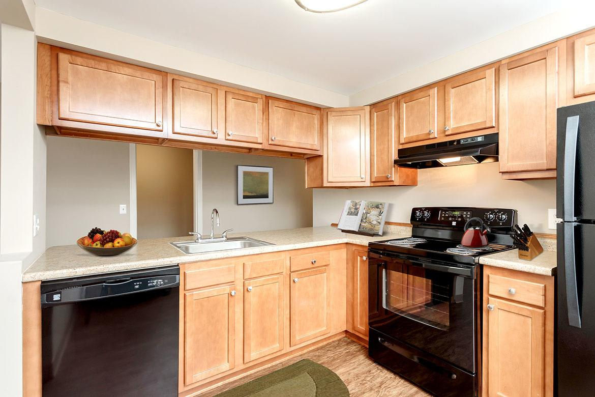 Example kitchen at Manlius Academy