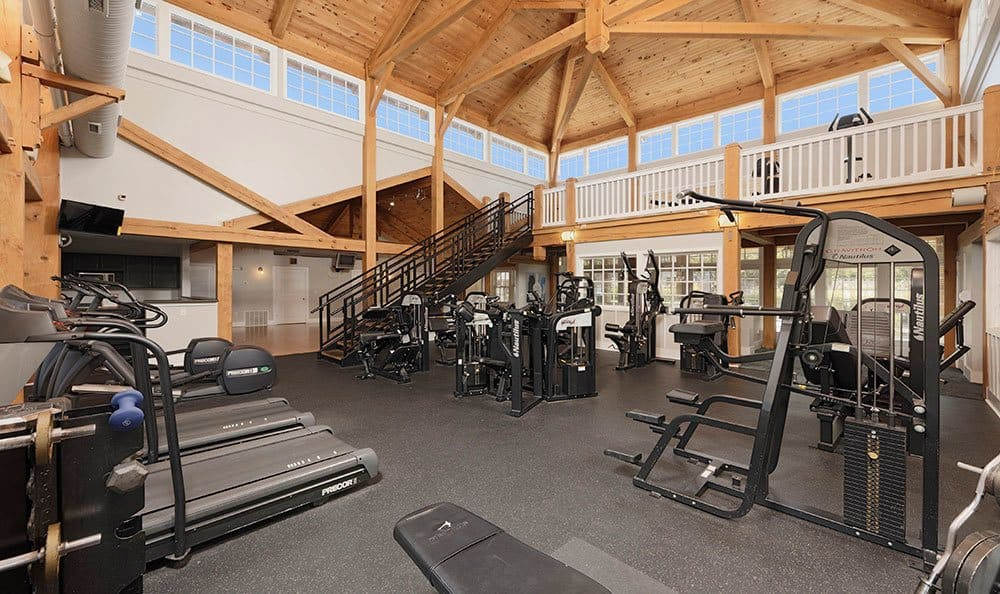 Charlotte apartments includes a fitness center