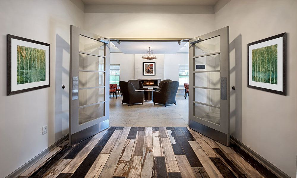 stylish clubhouse in Cranberry Township, PA