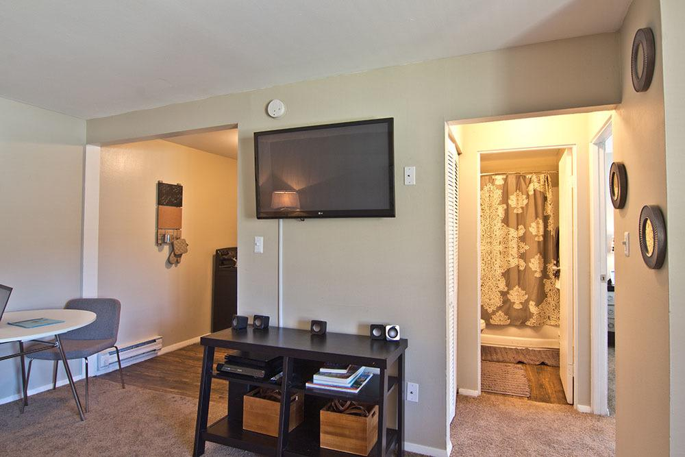 nice living area in our Fort Wayne, IN apartments