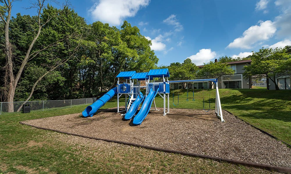 A Children's play area is onsite for your enjoyment at Nineteen North Apartments
