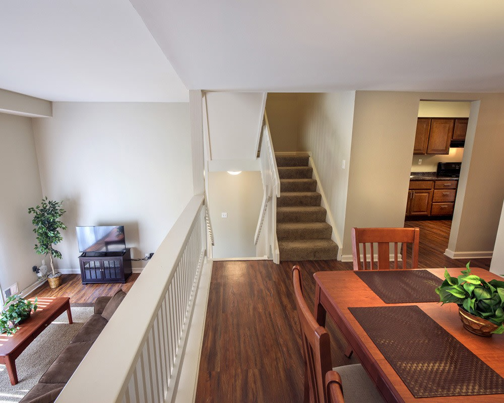 Spacious floor plans at the apartments for rent in Pittsburgh