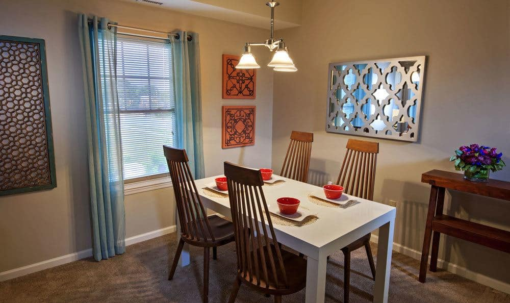 Nice dining room at our apartments in Cranberry Township, PA