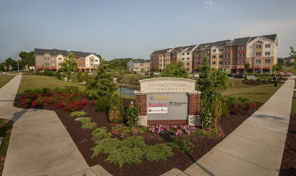 Outdoor shot of our apartments in Cranberry Township, PA