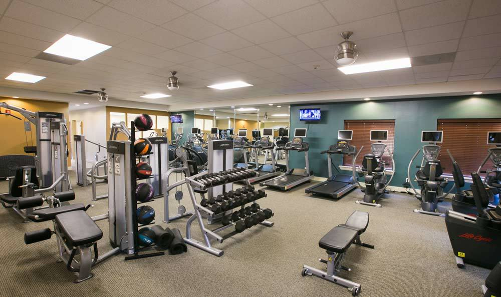Apartment Exercise Facility at Mayfield Heights, OH