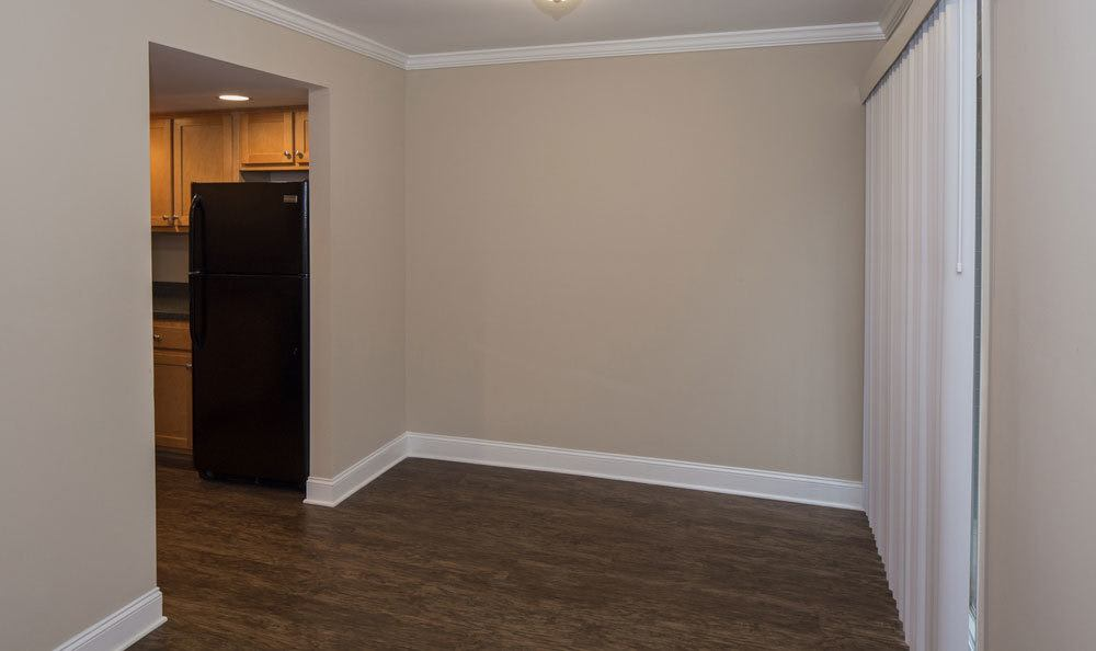 Spacious living areas at our apartments in Raleigh, NC