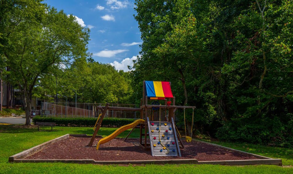 Playground at apartments in Raleigh, NC