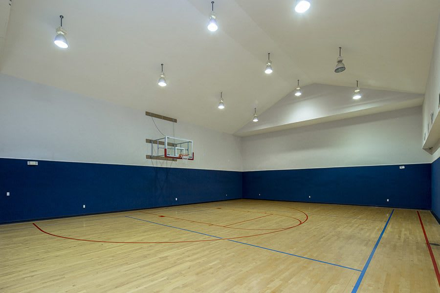 Basketball court at our apartments in in Texas City, TX