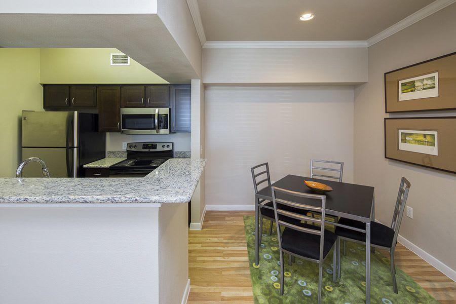 Example kitchen at Veranda in Texas City, TX