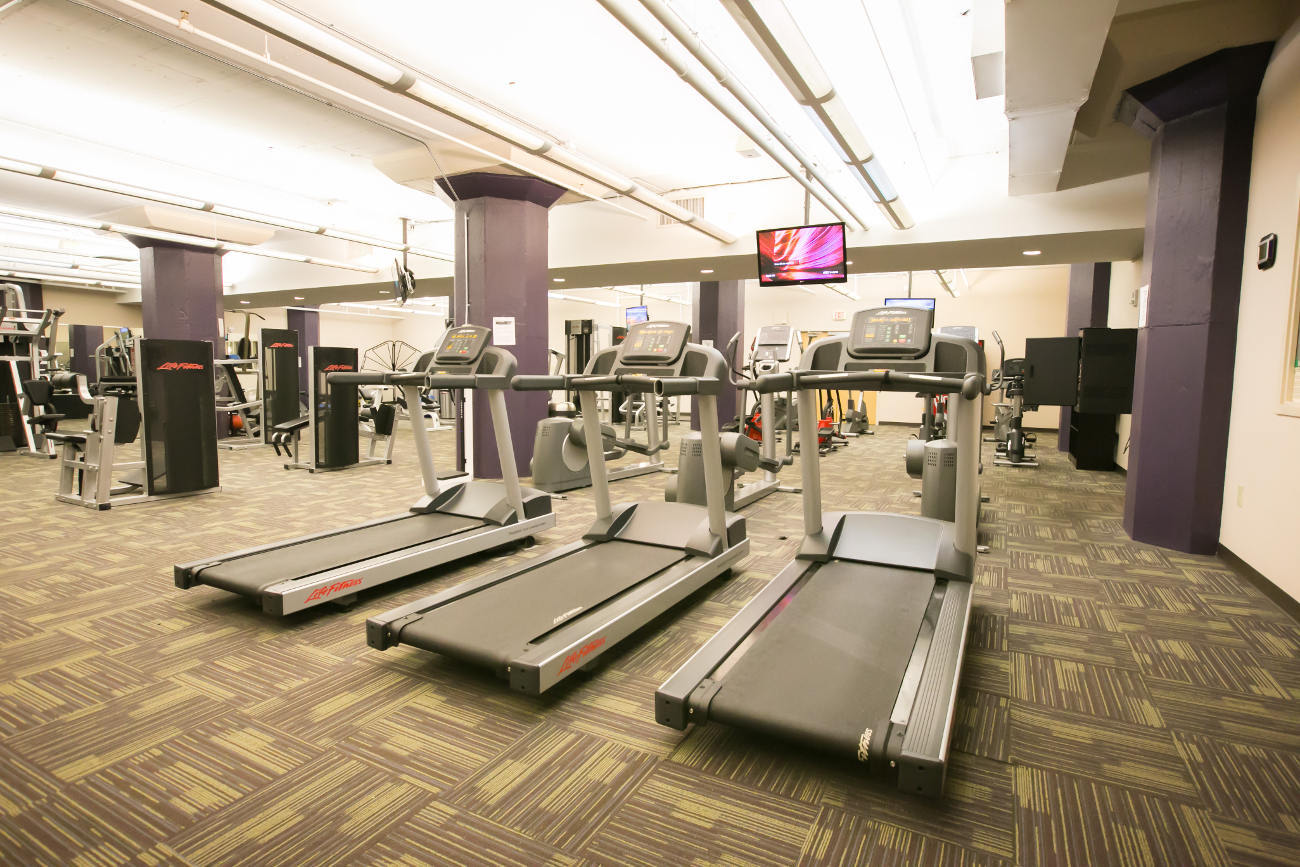 Fitness center at The Bingham