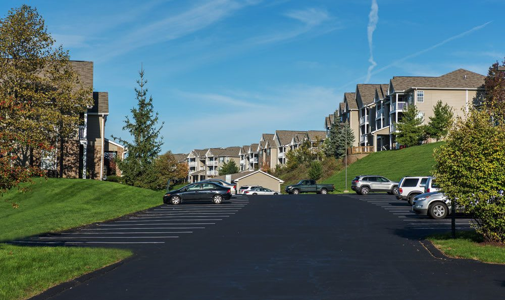 Waterford Nevillewood parking area in Presto, PA