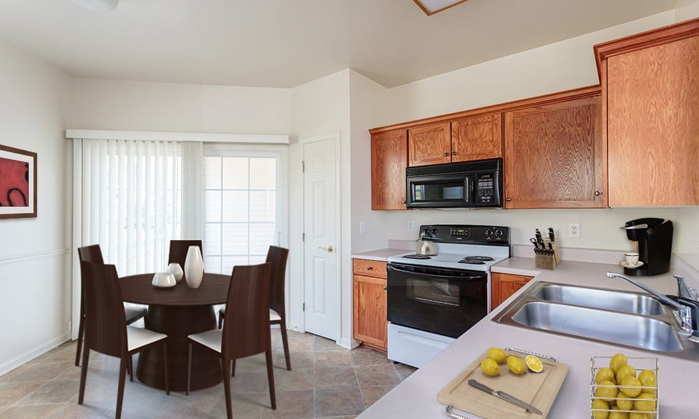 Nice kitchen in Webster NY apartments for rent