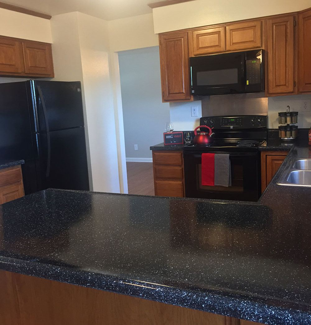 New appliances at apartments in Eagle Meadows Apartments in Dover, DE