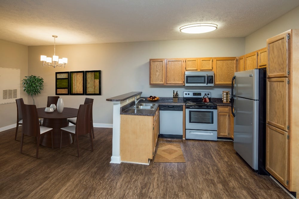 Spacious kitchen in our Huntsville, AL apartments