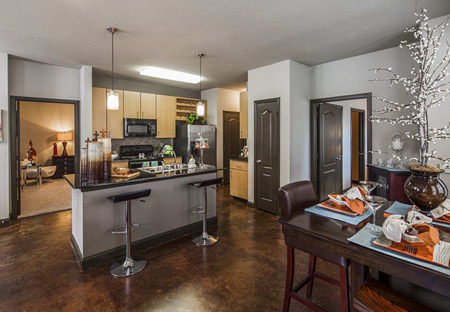 Spacious kitchen in our Baton Rouge, LA apartments