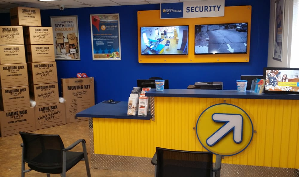 Leasing Desk at Compass Self Storage in Wendell, NC