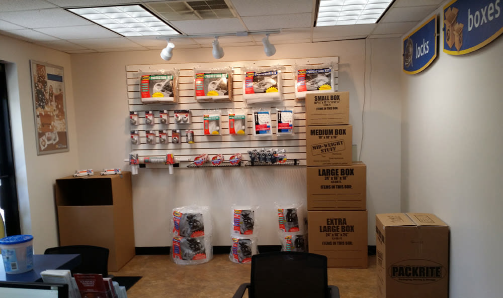 Merchandise available at Compass Self Storage