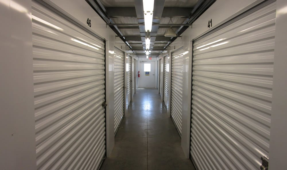 Large Indoor Units at Compass Self Storage in Goldsboro, NC