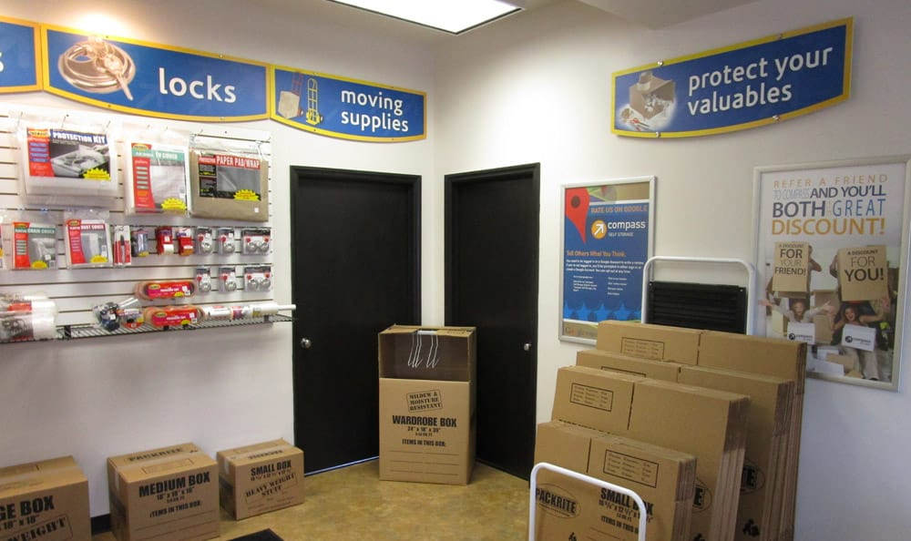 Packing Supplies at Compass Self Storage in Goldsboro, NC
