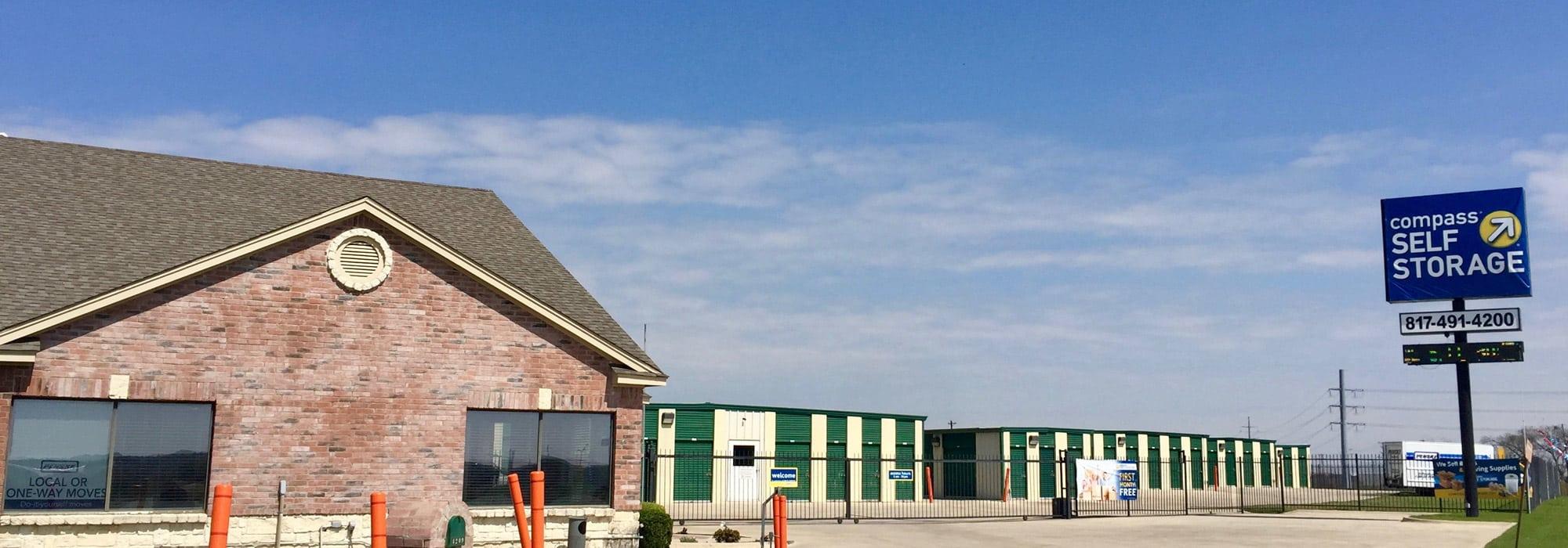 Self storage in Ft. Worth TX