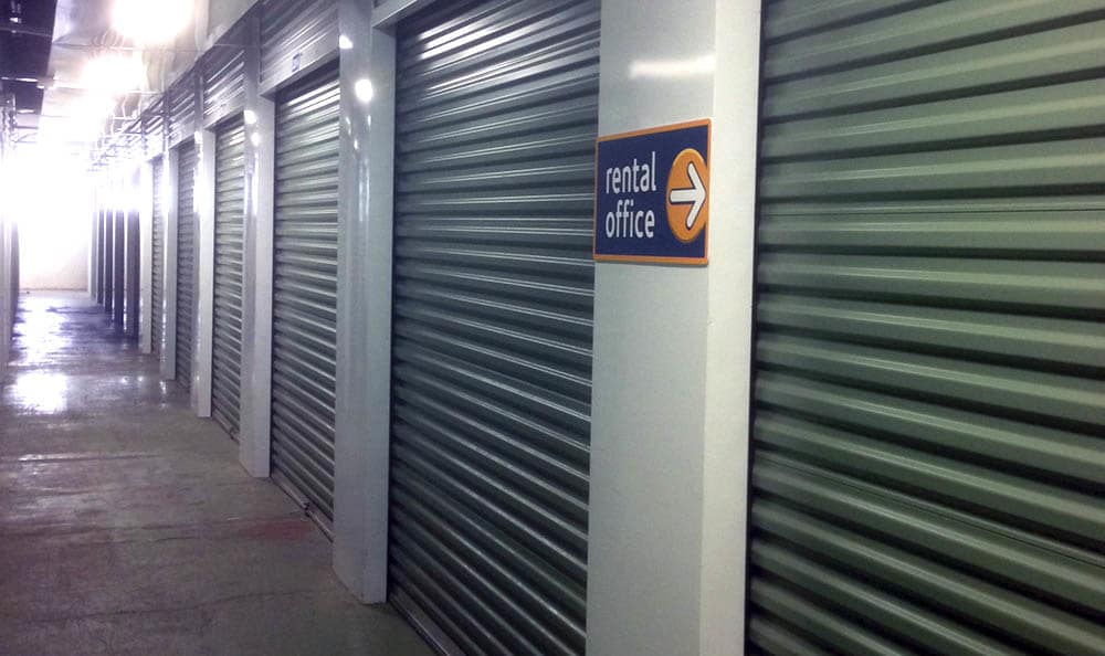 Climate controlled storage units at Compass Self Storage in Whitsett