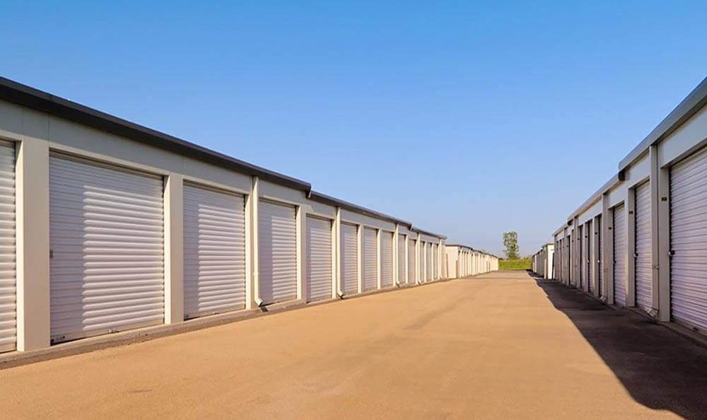 Exterior shot of Compass Self Storage in Whitsett