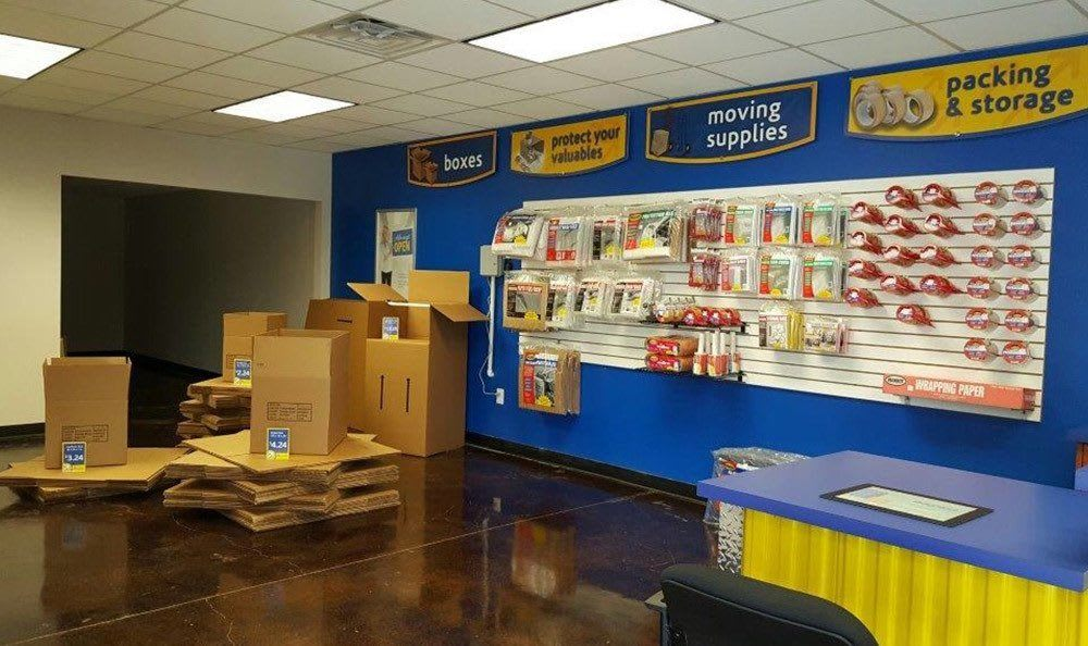 Packing and Moving Supplies at Compass Self Storage in Ft. Worth, TX