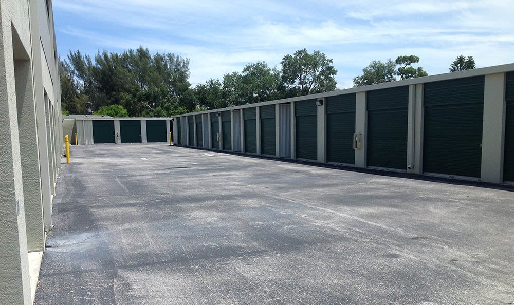 Drive Up Units at Compass Self Storage in Conyers, GA