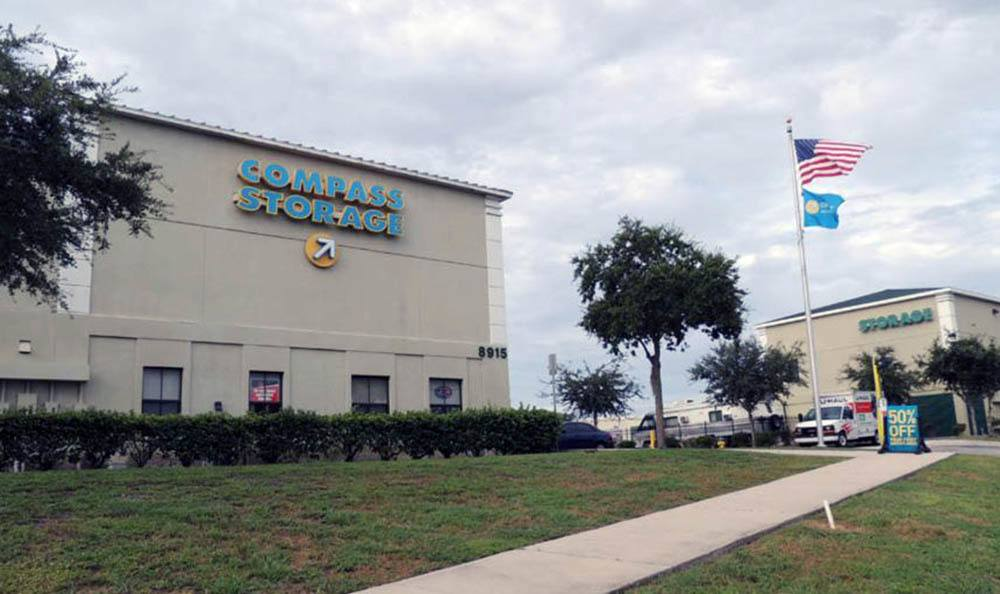 Welcome To Compass Self Storage in Bradenton, FL