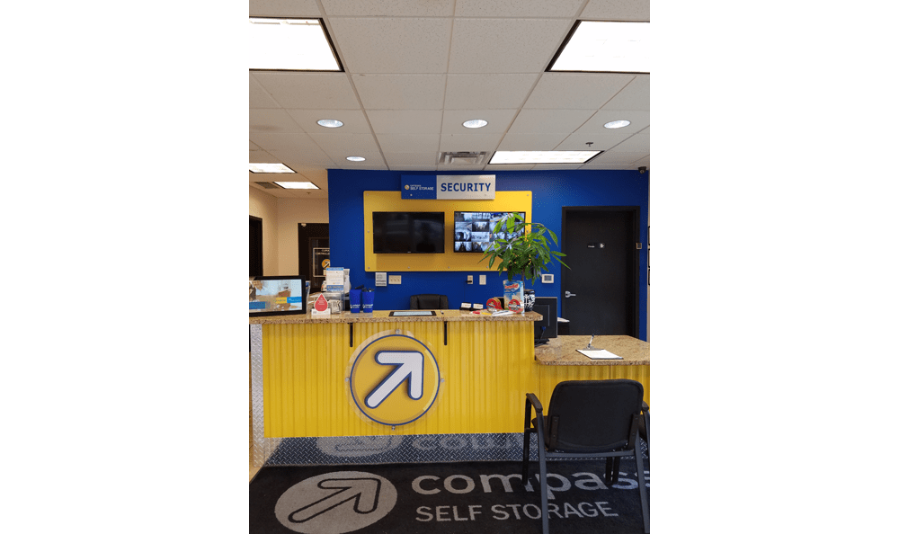 Front Desk at Compass Self Storage in Smyrna, TN
