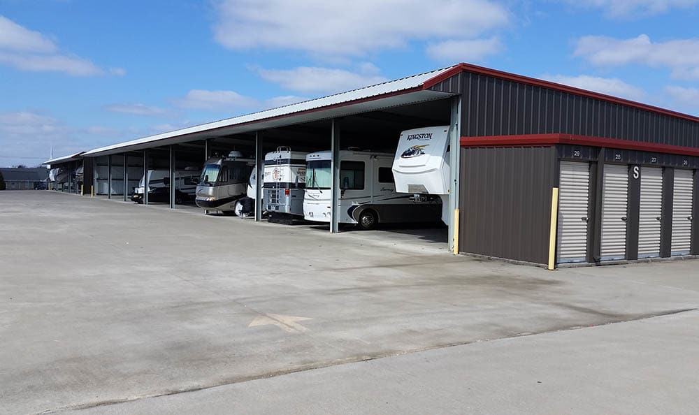 Rv And Boat Parking at Compass Self Storage in Smyrna, TN