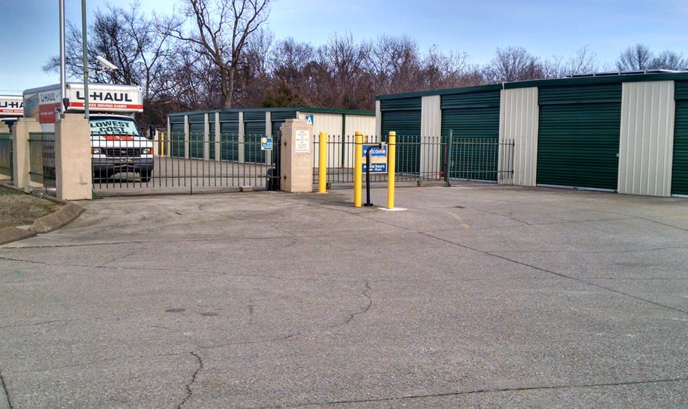 Gated Entrance at Compass Self Storage in La Vergne, TN
