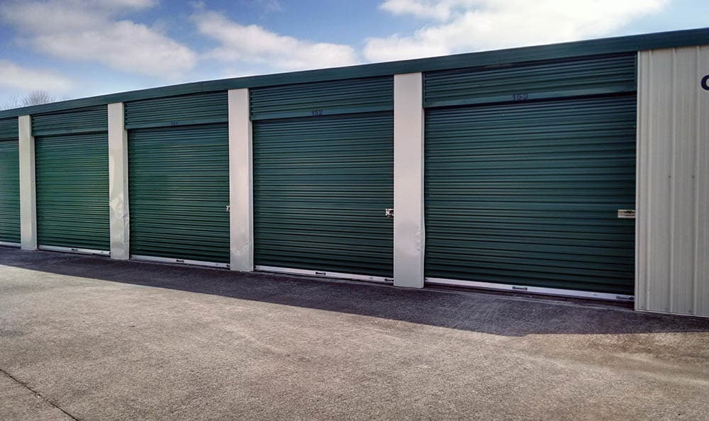 Exterior Storage Units at Compass Self Storage in La Vergne, TN