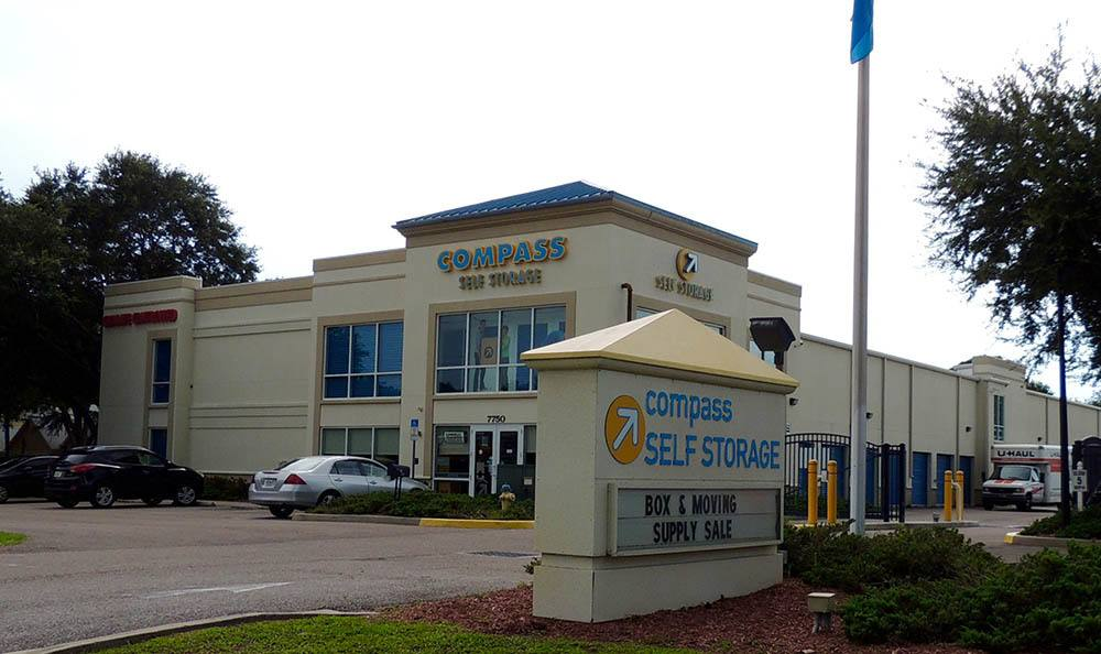 Exterior of Compass Self Storage in Sarasota, FL